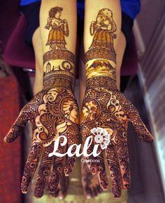 mehndi maharani finalist: Lali Creations http://maharaniweddings.com/gallery/photo/26885