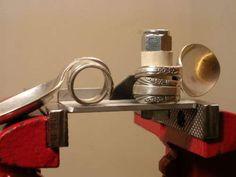 Spoon Ring Bender Make Rings Silver Gemstone Beads Wire Craft Vintage Jewelry | eBay