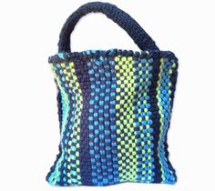 Woven Bag Knitting Loom ~*~ Free Pattern