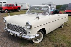 Ford Consul convertible, one in my home town this exact colour combination.