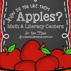 How do you like them apples?! Spice up your apple unit with these SUPER fun math and literacy centers!! This unit includes a total of 8 math and li...