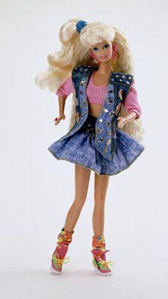 ✿ Barbie Doll Western Fun Fashion Jeans Hollywood Hair Cowboy Boots ✿