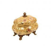 Caixa Decorativa de Porcelana Foshan II