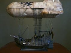 How to build your own air ship instructions - Pretty darn neat and very detailed how-to on taking a model ship and turning it into an airship.