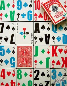 LoVision - Bicycle playing cards | Bicycle E-Z-See LoVision … | Flickr - Photo Sharing!