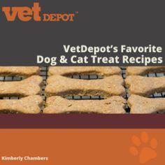VetDepot's Favorite Dog & Cat Treat Recipes! $9.99 for 50 great treat recipes!