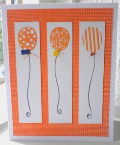 Marlies: Verjaardagskaart met ballonnen