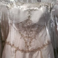 Talk about a Princess wedding dress