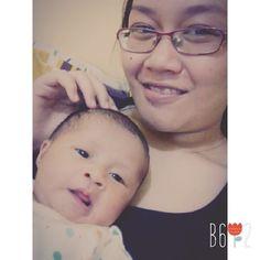 Aruna w/ my lovely mommy