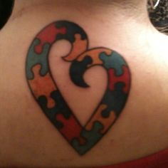 Autism Tattoos Mother's   Pinned by Frankie Radabaugh                                                                                                                                                                                 More