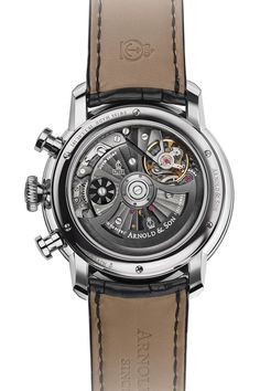 Arnold & Son CTB Steel 1CHAS.S02A.C12 | Oster Jewelers