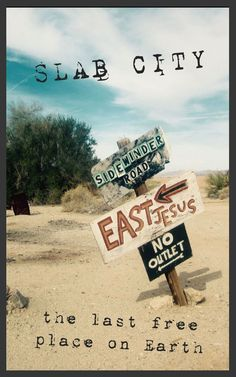 """Slab City, California, is known as the """"last free place on earth."""" I stopped by for a few days to check it out. #Travel #Roadtrip"""