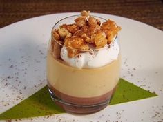 Salty Caramel Panna Cotta // the best thing I ever made sweet endings by Beau @Kelly Blightman Mallory