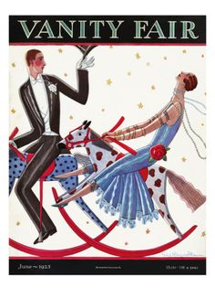 Vanity Fair Cover - June 1925 by Stanley W. Reynolds