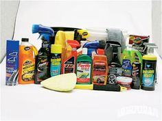 everything you need to clean your car