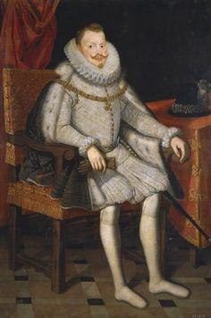 Felipe III, rey de España, sedente, Bartolomé González Y Serrano, Museo Nacional del Prado