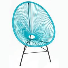 Design Tree Home Acapulco Blue Lounge Chair (China) - Overstock™ Shopping - Top Rated Chairs & Recliners ($279.99)