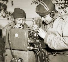 Navajo Code Talkers during World War II