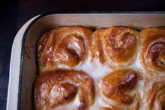Orange Scented Olive Oil Sticky Buns  http://food52.com/recipes/15157-orange-scented-olive-oil-sticky-buns#