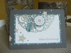 Weihnachtskarte, Christmas Card - Inspiration von Jenni Pauli