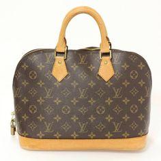 Louis Vuitton Monogram Canvas Leather Alma PM Bag  56a0e265ca630