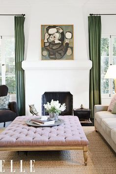 ideas to update forest green in any room