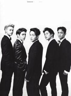 160922 #SHINee - GQ Korea Magazine October Issue #Taemin #Minho