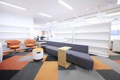 Publicaciones Semana #largeoffice #commercialspaces #commercialinteriors #design #flooring
