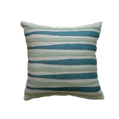 I pinned this Morris Applique Pillow in Aqua and Blue from the Balanced Design event at Joss & Main!