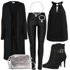 Abend Outfits: Silver bei FrauenOutfits.de