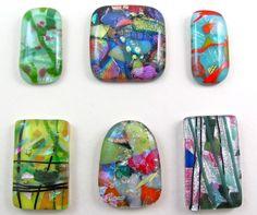 Fused glass..... make pendants/jewelry