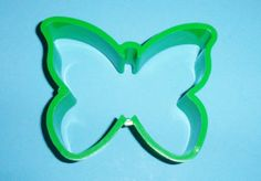 Hallmark Green Plastic Butterfly Shaper Cookie Cutter Spring Summer Cookie Cutter