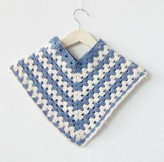 Crochet Poncho (with link to free pattern)