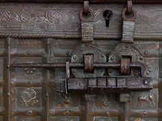 Old door bolt