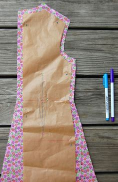 ikat bag: How I Mark Sewing Points on Fabric