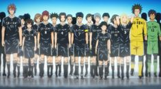 Days (TV) soccer anime Ahhhh one of my favorite animes! You must watch it!