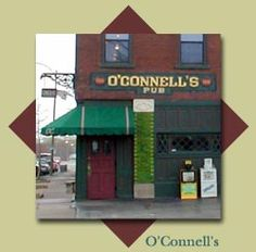 O'Connell's Pub in St. Louis, Missouri brings back memories of great food and great friends!