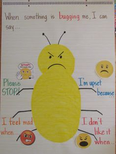 Wild & Fun in Pre-K: Monday Made It love her chart.  PBIS - teach the behavior you want/kids need to be successful.