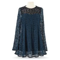 Teal Lace Tunic
