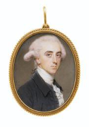 John Smart Portrait d'homme