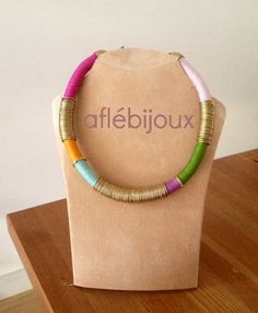 Aflé Bijoux African Thread necklace - Ablan – AFLÉ BIJOUX