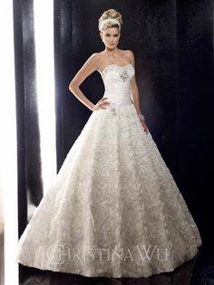 Christina Wu Bridal Gown 15475 - Wedding Shoppe, Inc. Your one stop wedding shoppe for designer wedding dresses and much more! Beautiful Wedding Gowns, Wedding Dress Styles, Dream Wedding Dresses, Bridal Dresses, Bridal Gown, Wedding Dressses, Magical Wedding, Gown Wedding, Wedding Card