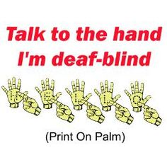 quotes+about+deaf+blind+children | Deaf Blind Greeting Cards | Card Ideas, Sayings, Designs  Templates
