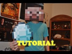 For Daniel: Minecraft Tutorial - How to Make a Steve head, and Minecraft Items! [HD]