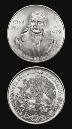 Mexican Peso, Dope Art, Stamp Collecting, Silver Coins, Precious Metals, Gold, America, Collection, Old Coins