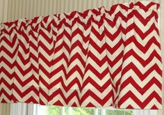 Custom Lined Window Valance  What A Cute Touch For Your