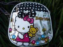 Cute Black Hello kitty Mini Messenger Bag / Handbag, FREE SHIPPING