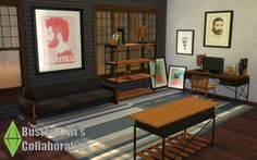 kiwisims4   Sims 4 Studio BUSTED STUDY    This set has been stuck in limbo for over a month , but this week I finally got it out