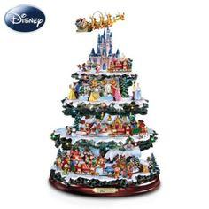 The Ultimate Disney 50-Character Tabletop Christmas Tree #Disney