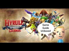 Quick Peek and Unboxing of the Prima Hyrule Warriors Legends Guide!   Nintendo Chit Chat